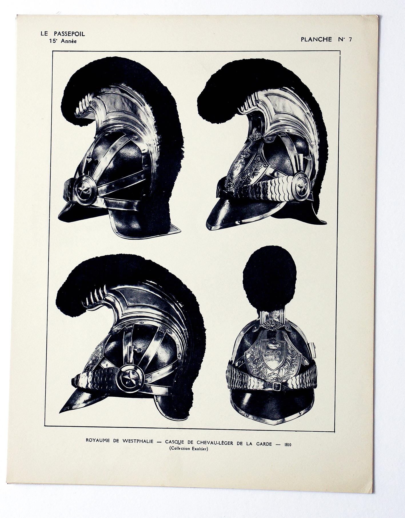 Le passepoil année 1935 incomplète - 15 année N°2 - Bucquoy - Uniformes Armée Française