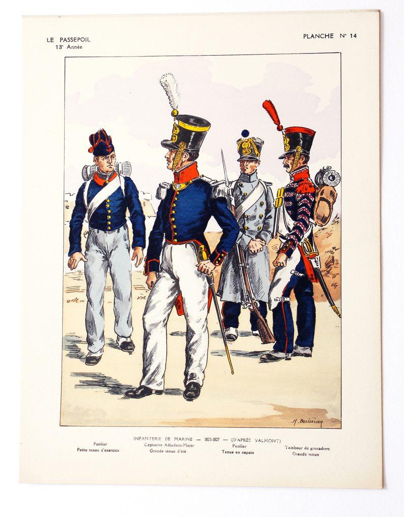 Le passepoil année 1933 complète - 13 année N°4 - Bucquoy - Uniformes Armée Française