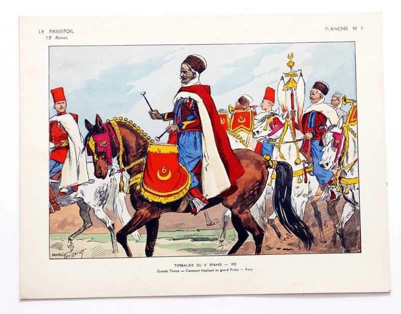 Le passepoil année 1933 complète - 13 année N°2 - Bucquoy - Uniformes Armée Française