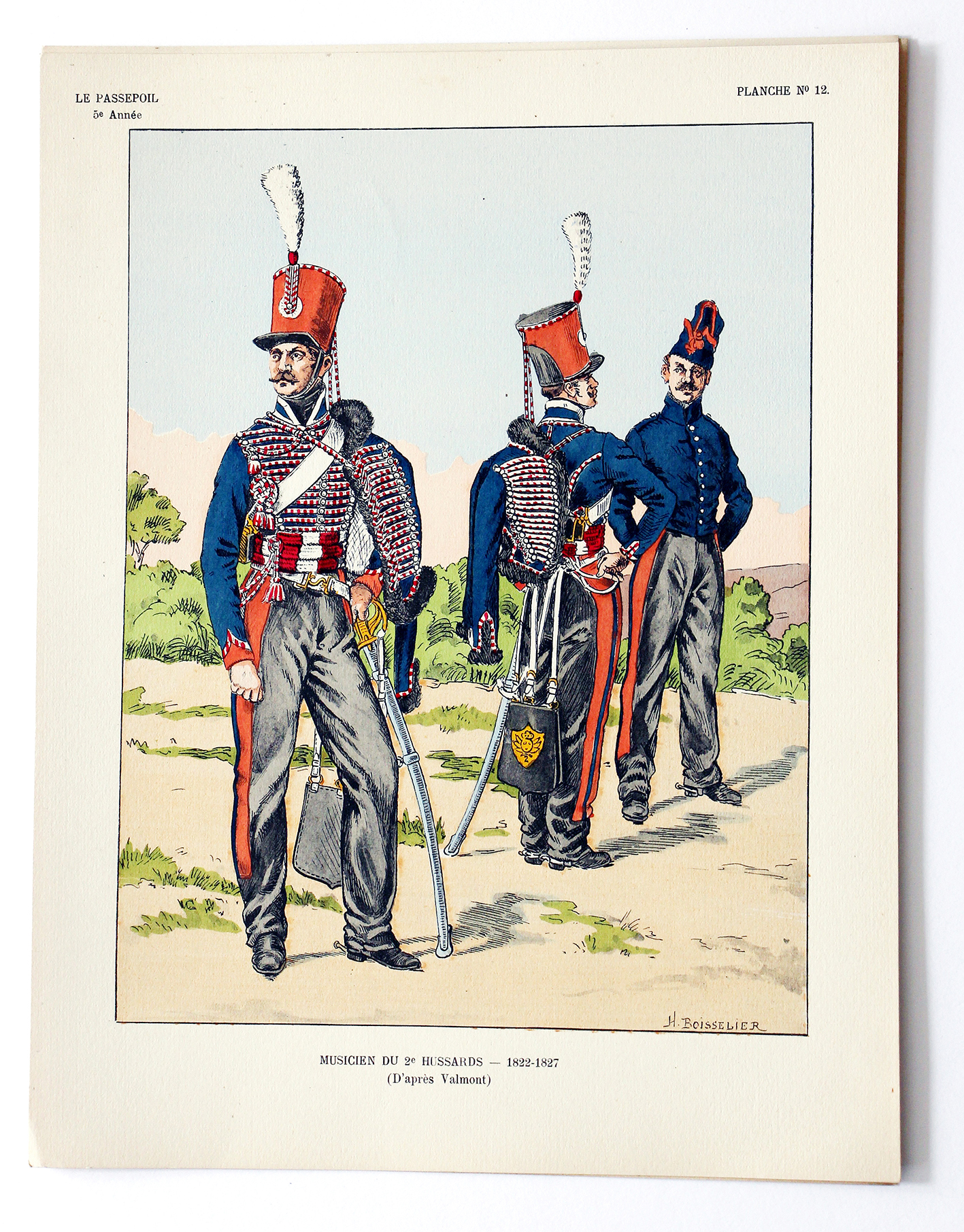 Le passepoil année 1925 complète - 5 année N°6 - Bucquoy - Uniformes Armée Française