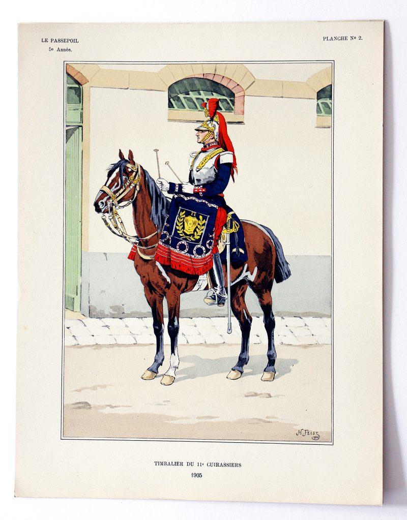 Le passepoil année 1925 complète - 5 année N°1 - Bucquoy - Uniformes Armée Française