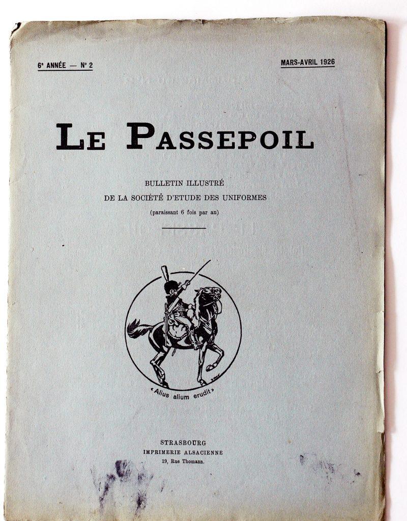 Le passepoil année 1926 complète - 6 année N°2 - Bucquoy - Uniformes Armée Française