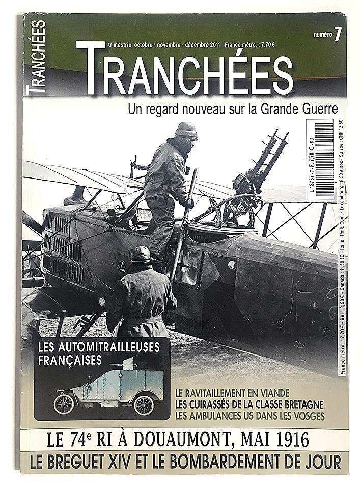 Revue Tranchée N°7 - Les automitrailleuses françaises