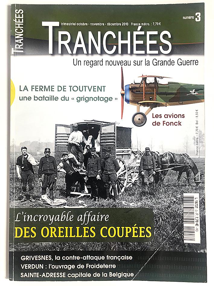 Revue Tranchée N°3 - Les avions Fonck