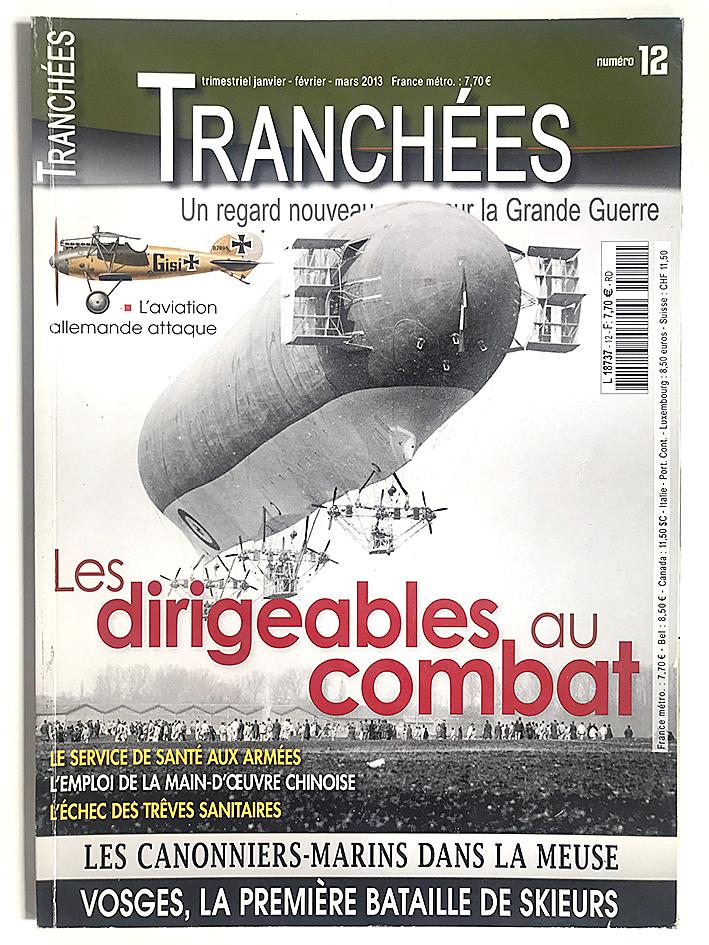 Revue Tranchée N°12 - Les dirigeables au combat