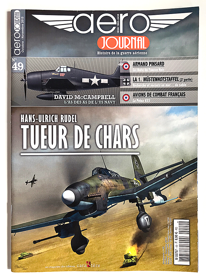 Revue Aéro Journal - N°49 - Aviation - Hans Rudel - Char