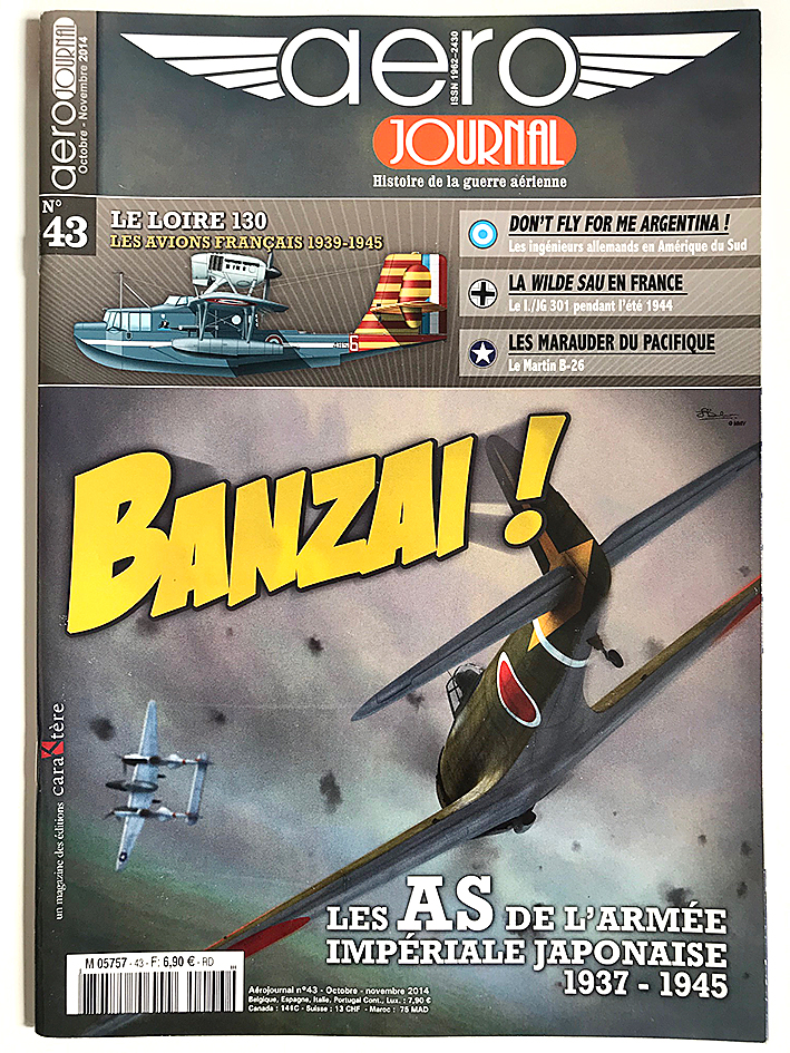Revue Aéro Journal - N°43 - Aviation - Banzai - Les as de l'armée Impériale Japonaise