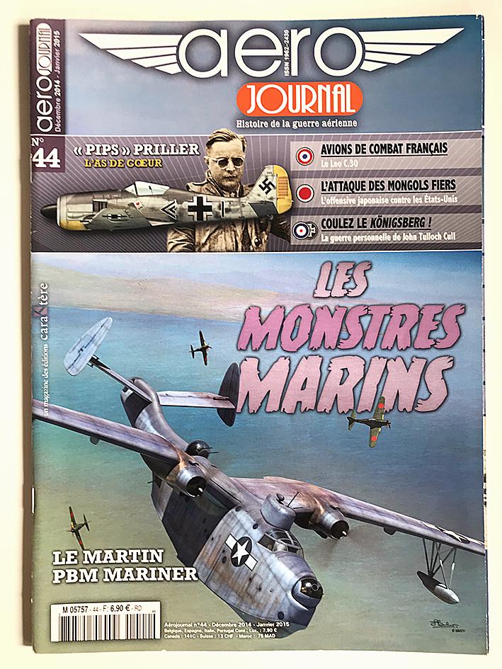 Revue Aéro Journal - N°44 - Aviation - Le Martin - Les monstres marins
