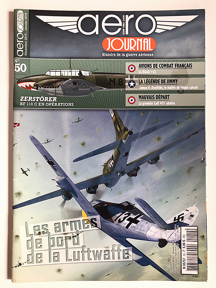 Revue Aéro Journal - N°50 - Aviation - Les armes de bord de la Luftwaffe