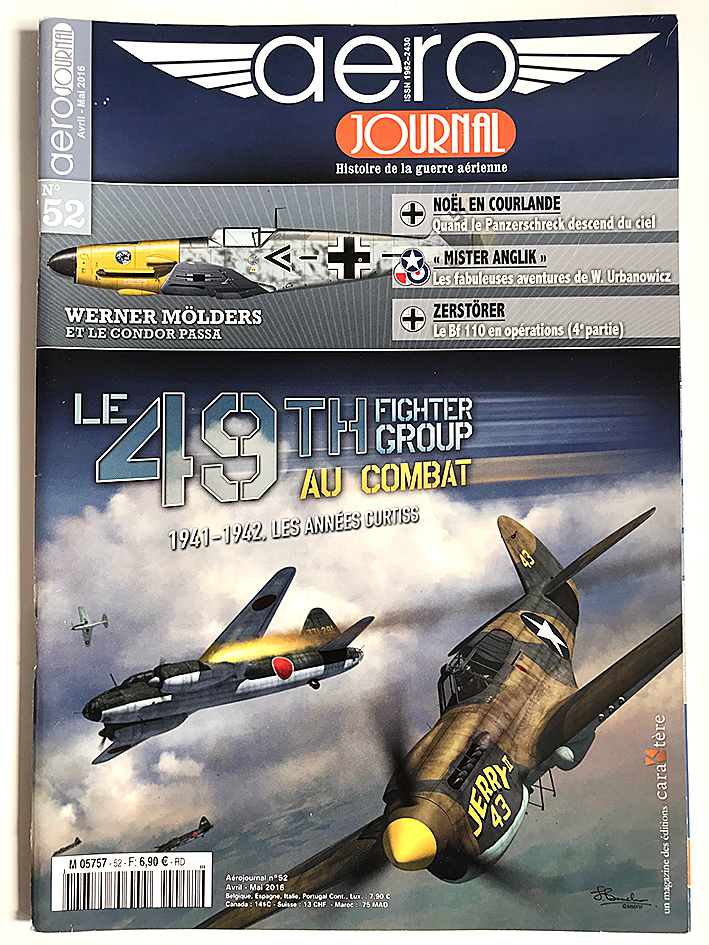 Revue Aéro Journal - N°52 - Aviation - Le 49th Fighter Group au Combat - 1941/1942