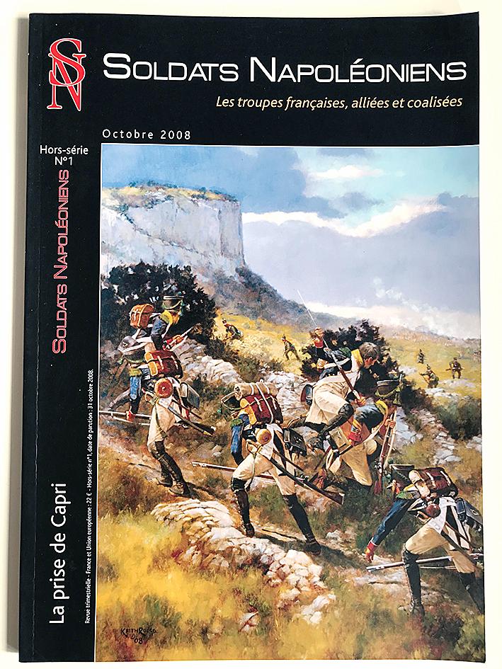 Soldats Napoléoniens Hors Série N°1- 1er Empire - La prise de Capri - Octobre 2008