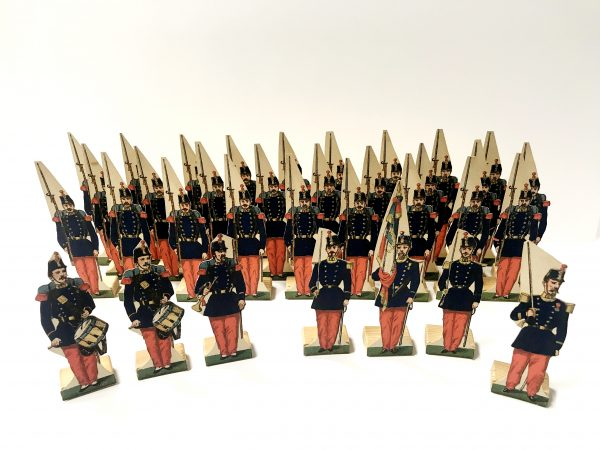 Petits Soldats de Strasbourg - Infanterie de Ligne 1872 - Planche Fischbach - Uniforme - 3ème République