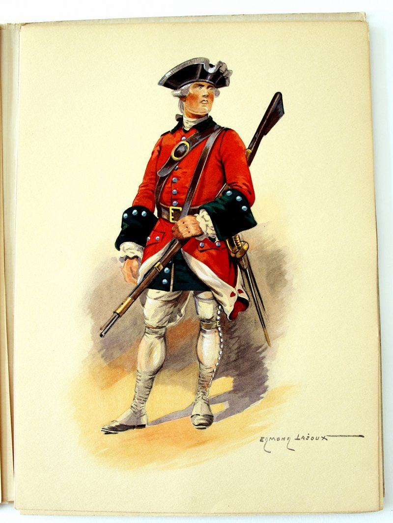 Le Lys L'ancre et la Croix - Pierre Mac Orlan - Edmond Lajoux - Uniforme - Soldat - Armée Française - Editions militaires illustrées