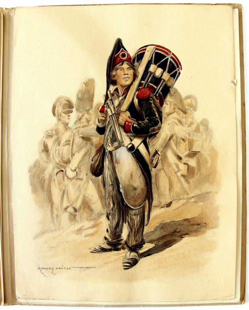 Tambours 1760/1815 - Pierre Mac Orlan - Edmond Lajoux - Uniforme - Soldat - Armée Française - Editions militaires illustrées