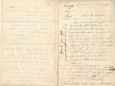 Lettre de soldat - 16 léger - En Crimée Décembre 1855 - Napoléon III - Guerre de Crimée - Second Empire