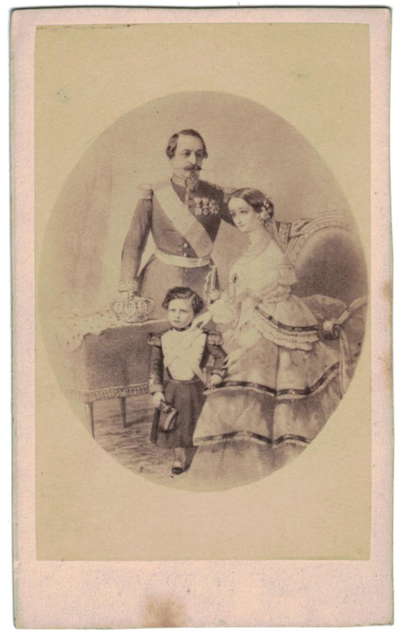 CDV - Famille Impériale - Napoléon III - Napoléon Ier - Second Empire - Eugènie - Louis Napoléon Bonaparte