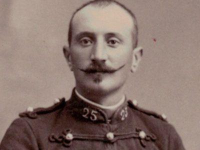 CDV Soldat Français - Artillerie - 3ème République - Tunique - Chalons sur Marne - 1880