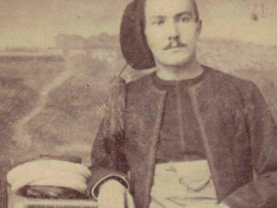 CDV Soldat Français - Zouaves - 3ème République - Tunique - Constantin Souvenir - 3ème Zouaves - Algérie