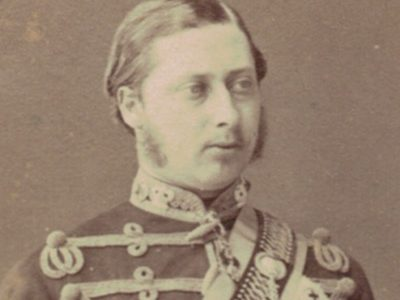CDV Prince de Galles - Prince of Wales - Hussard - 1870 - Photo Bingham Paris - Édouard VII