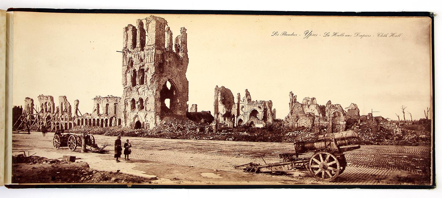 Grand Livre Panoramique de Guerre 14/18 - Vues de Guerre 1914 - 1918 - Photographie - Tirage en Phototypie D'art Limoges