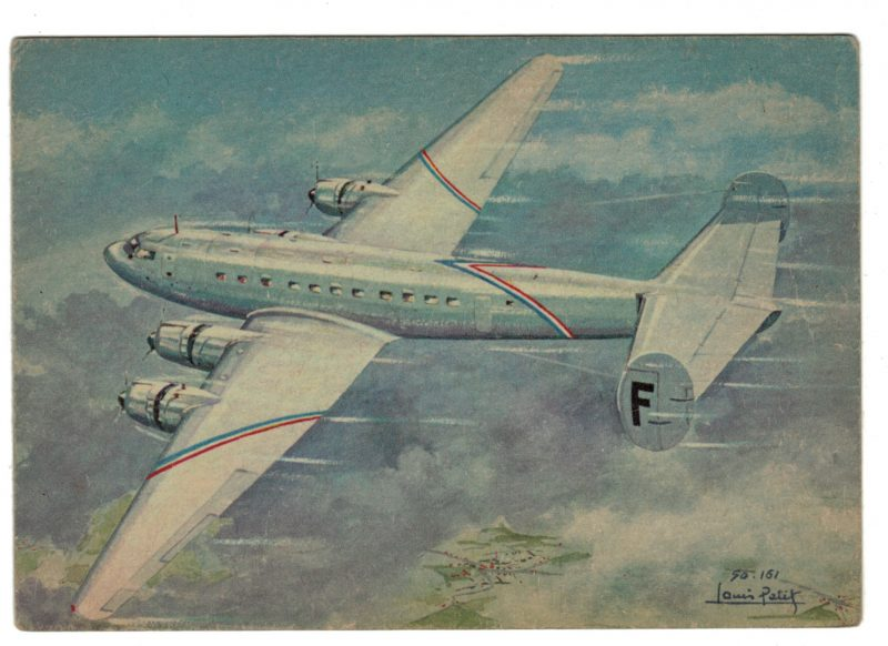 Série 18 Cartes Postale - Aviation - Guerre 39/45 - Illustration Louis Petit - Atelier D'art L.E.P. Paris 9e