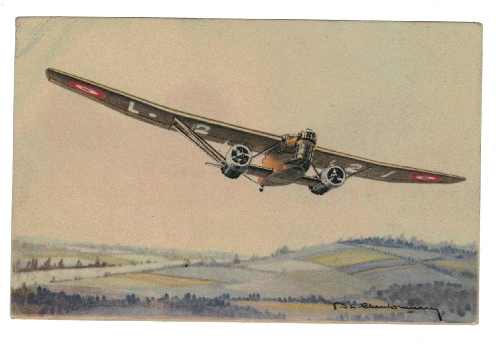 Série 29 Cartes Postale - Aviation - Guerre 39/45 - Illustration - AEAEC PARIS