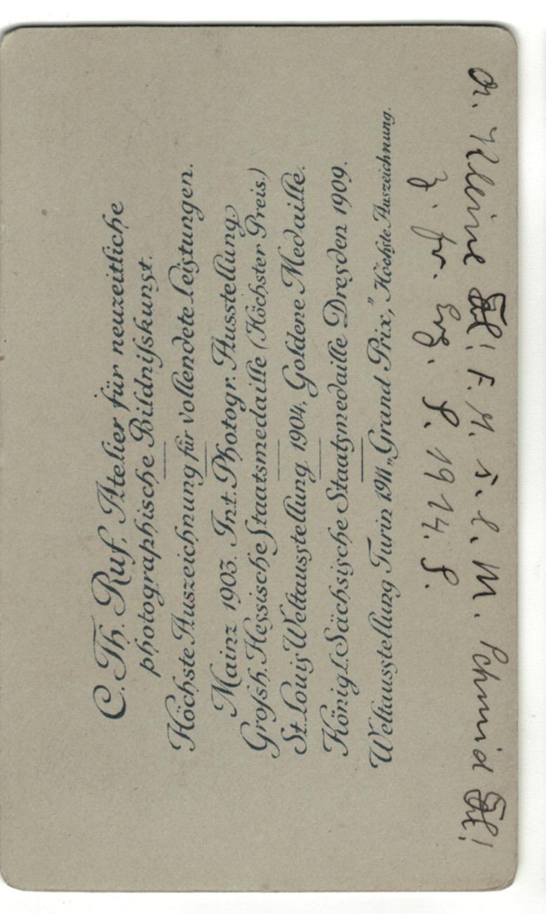 CDV Etudiant Allemagne XIX - Freiburg - 1880 - Studentenverbindungen - Mensur