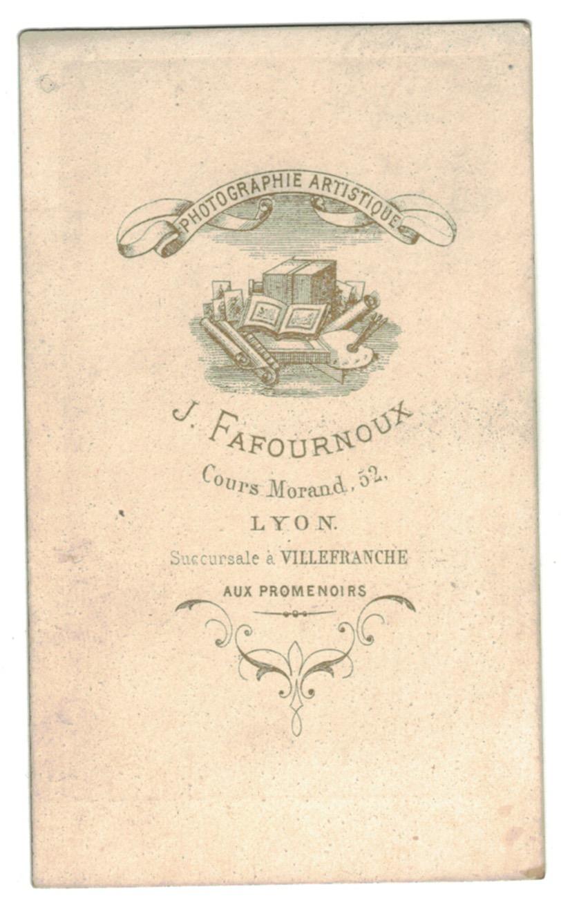 CDV Soldat Français - Mobile - Lyon - Second Empire - 3ème République - Officier - 1871 - Capitaine
