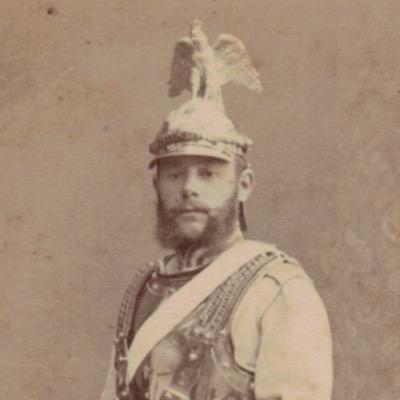 CDV Soldat Allemand - Armée Cavalerie - Grande tenue - Garde Cuirassier - Sabre - Berlin