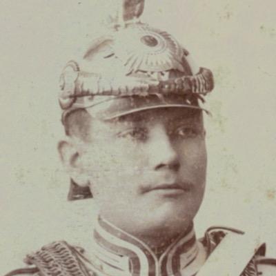 CDV Soldat Allemand - Armée Cavalerie - Grande tenue - Garde du Corps - Sabre - Berlin Potsdam