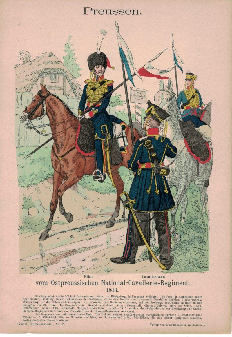 Uniformenkunde - Richard Knoetel - Volume 1 - Complet de ses 50 planches - Uniforme - Armée - Histoire uniforme.