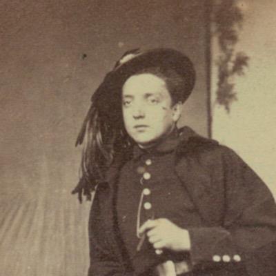 CDV photographique - Cabinet Card - Italie - Risorgimeto - Bersaglieri - Soldat - Circa 1865