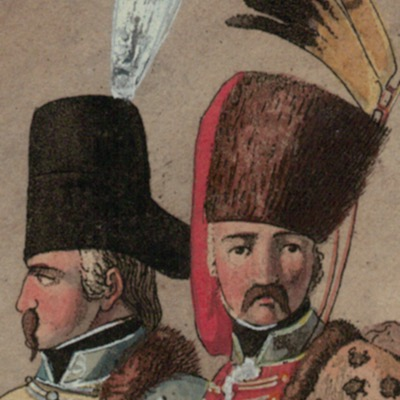 Gravure XIX - SEELE, VOLZ und EBNER - Troupes Prussiennes - Cavalerie - Uniforme - 1er Empire - Circa 1810