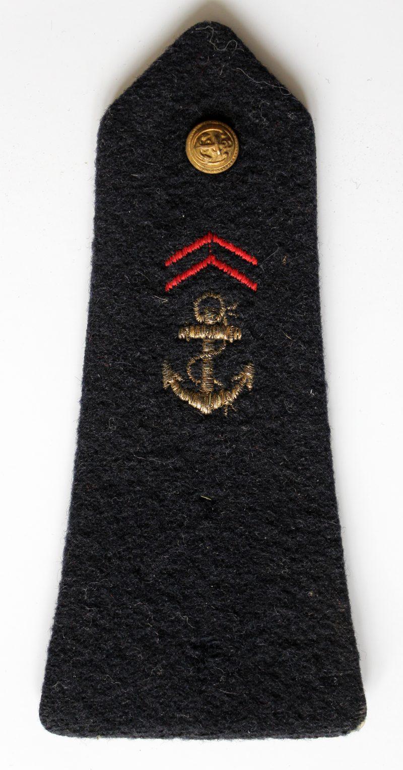 Lot Paire Epaulettes - Armée française - XX - Infanterie de marine - Guerre Algérie - Fourragères - 1952