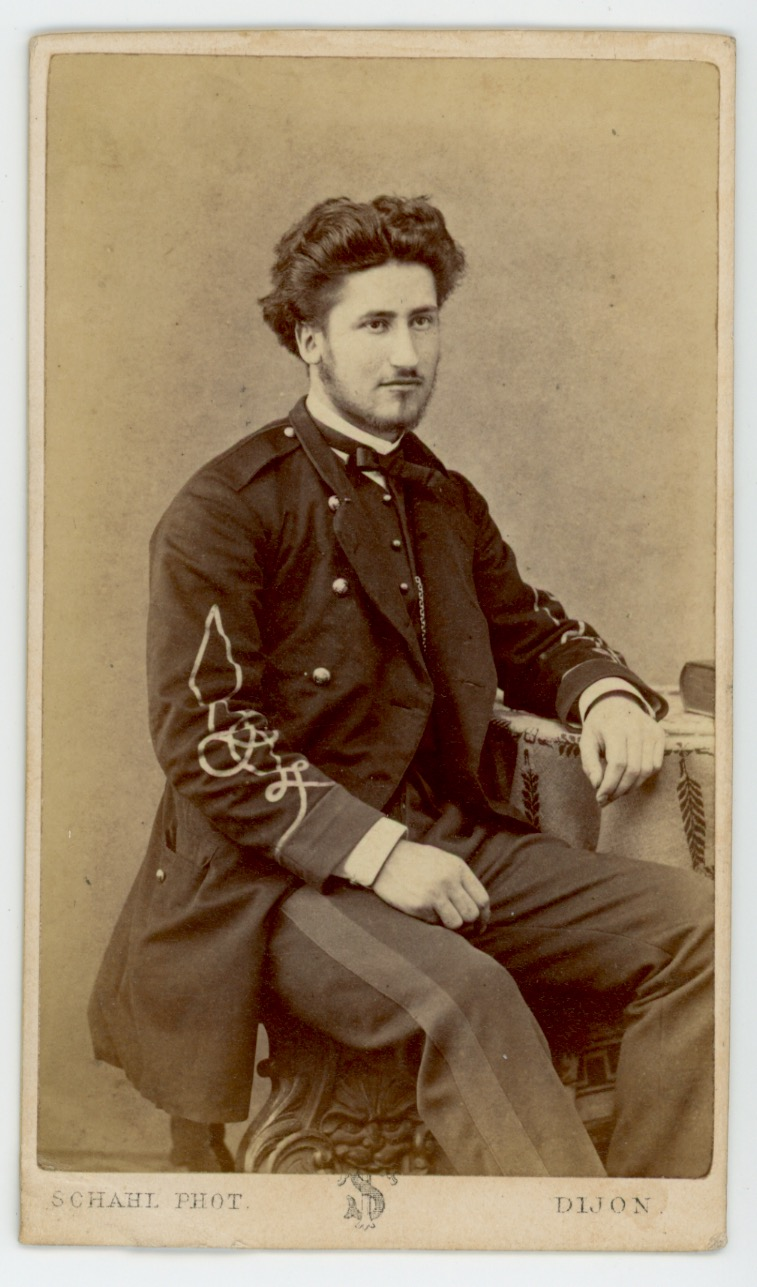 CDV - Ancienne Photographie - Second Empire - Régiment Garde Nationale - Infanterie - Uniforme