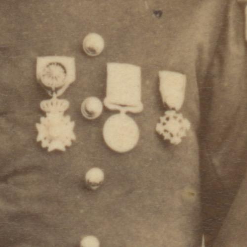 CDV - Ancienne Photographie - Lieutenant Colonel - 3ème République - 143ème Régiment D'infanterie - Uniforme