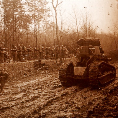 Photo Plaque Stéréo - Guerre 14/18 - Conflit - Tranchée - Vue Stéréoscopique - Poilu - Uniforme - Document actualité - 015
