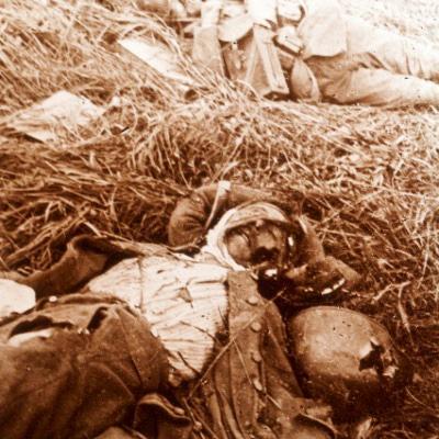 Photo Plaque Stéréo - Guerre 14/18 - Conflit - Tranchée - Vue Stéréoscopique - Poilu - Uniforme - Document actualité - 012