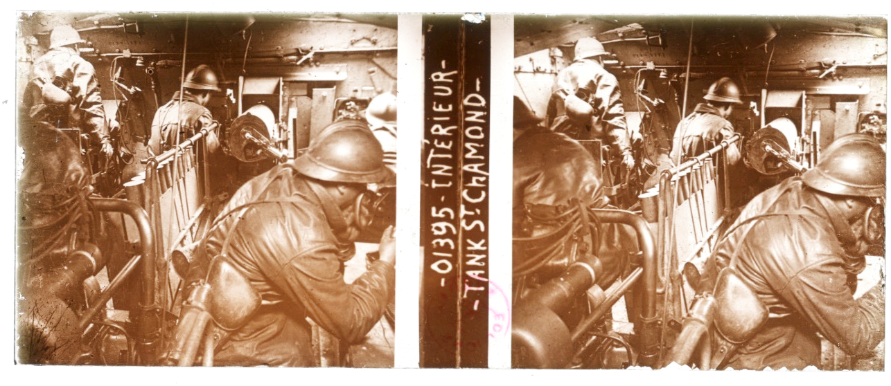 Photo Plaque Stéréo - Guerre 14/18 - Conflit - Tranchée - Vue Stéréoscopique - Poilu - Uniforme - Document actualité - 005