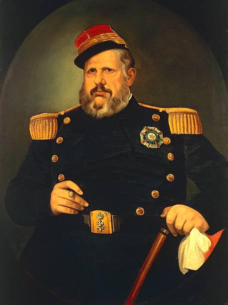 CDV - Ancienne Photographie - Portrait Officier Infanterie - Naples - Second Empire - Napoleon III -Ferdinand II (roi des Deux-Siciles)