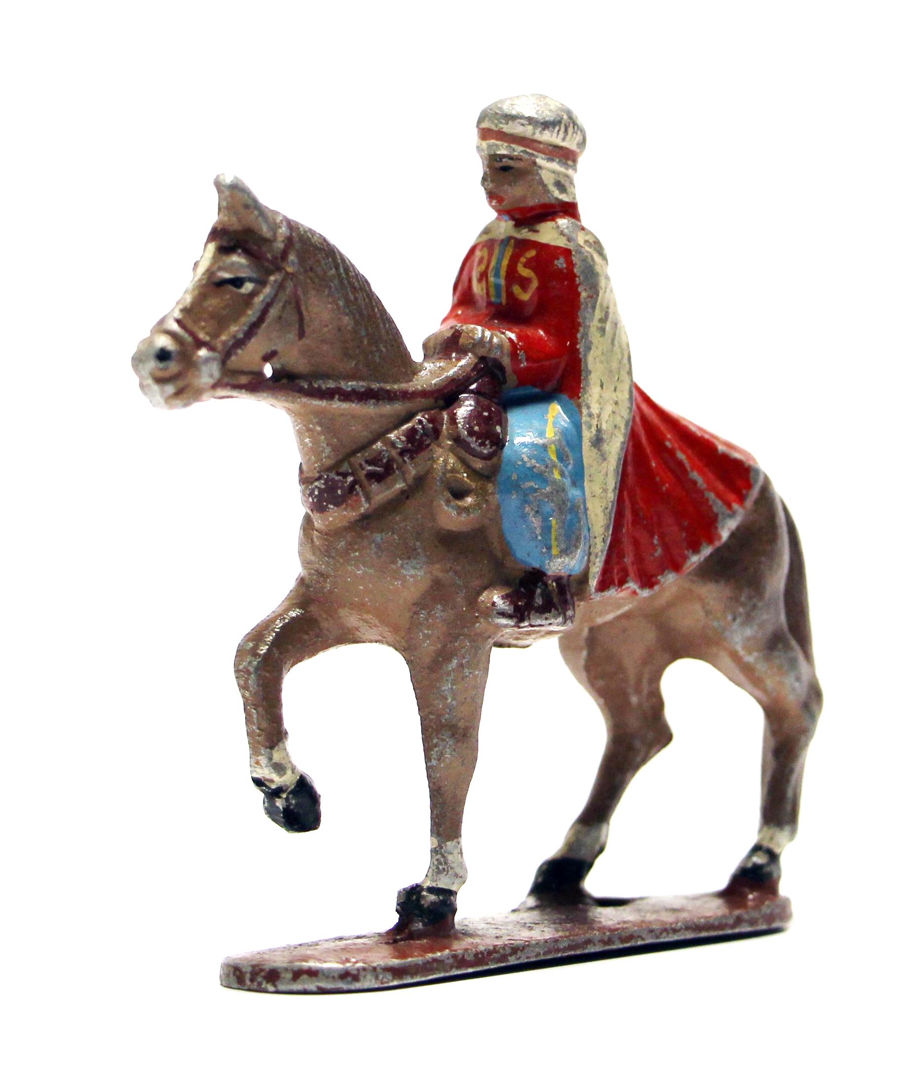 Figurine Quiralu ancienne Spahis Afrique du Nord 1940
