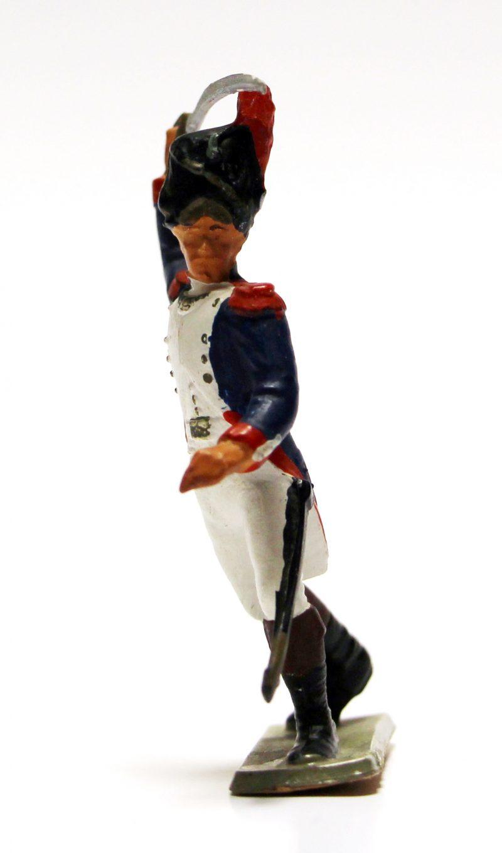 Figurine Starlux 1970 Grognard 1er Empire Garde Impériale Plastique