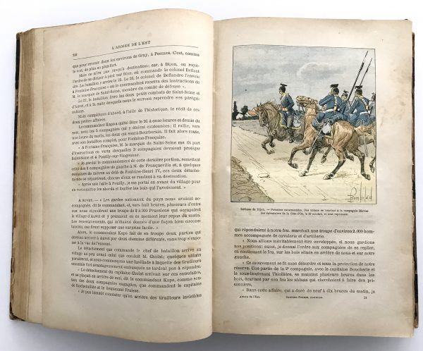 L'ARMEE DE L'EST. Relation anecdotique de la campagne de 1870-71 - Grenest