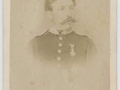 CDV - Ancienne Photographie - Portrait - Second Empire - Uniforme - Médaille - A définir ?