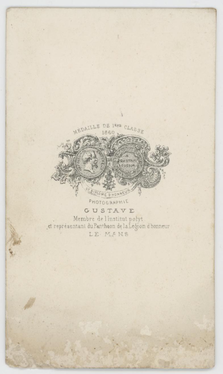 CDV - Ancienne Photographie - Portrait - Second Empire - Uniforme - Médaille - Guerre de Crimée - A définir ?