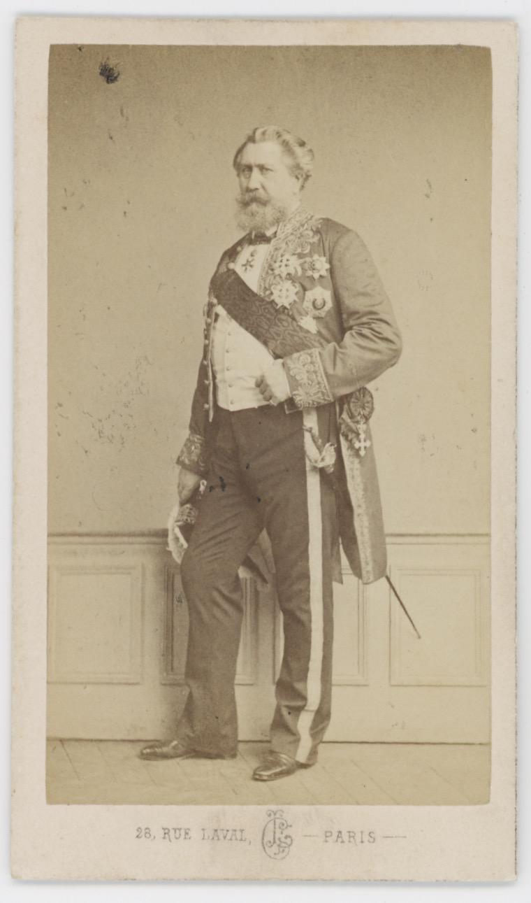 CDV - Ancienne Photographie - Portrait Alfred Émilien O'Hara van Nieuwerkerken - L.Crémière - Second Empire - Napoléon III
