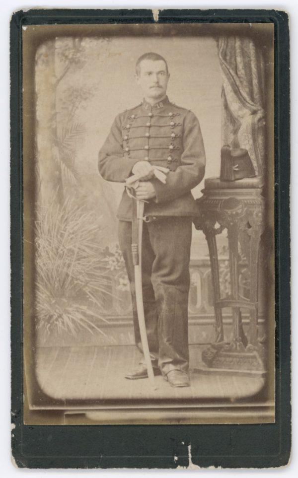 CDV - Ancienne Photographie - 3ème République - Artillerie - 18ème Régiment - Uniforme