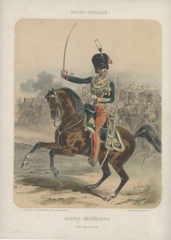 Uniforme Second Empire - Guides Garde Impériale - François Hippolyte Lalaisse - Uniforme - Napoléon III