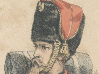 Uniforme Second Empire - Artillerie à Pied Garde Impériale - François Hippolyte Lalaisse - Uniforme - Napoléon III