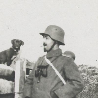 Ancienne Photographie - Guerre 14/18 - Armée Allemande - Tranchée - Grenade - Front Belgique -